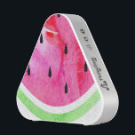 """Watercolor Watermelon Bluetooth Speaker<br><div class=""""desc"""">Relax. Refresh. Rejuvenate. A soft touch of a summertime favorite is sure to add a breath of fresh air to your indoor d&#233;cor and all your little accessories.</div>"""