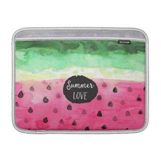 Watercolor Watermelon MacBook Sleeve