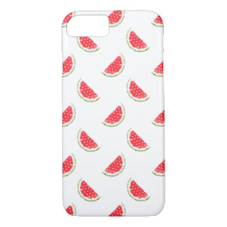 Watercolor Watermelon Pattern iPhone 7 Case