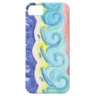 Watercolor Waves iPhone SE/5/5s Case