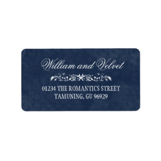 Watercolor Wedding Address Labels