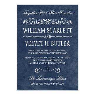 """Watercolor Wedding Invitations 5"""" X 7"""" Invitation Card"""