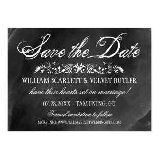 Watercolor Wedding Save the Date Invitations