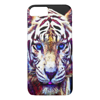 Watercolor White tiger iPhone 7 Case