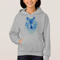Watercolor Winter Wolf Sweatshirt