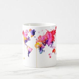 Watercolor World Mug