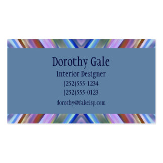 Watercolored - Brightly Colored Abstract Business Card