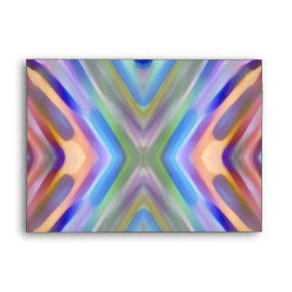 Watercolored - Brightly Colored Abstract Envelope