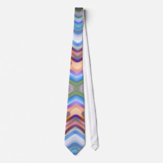 Watercolored - Brightly Colored Abstract Tie
