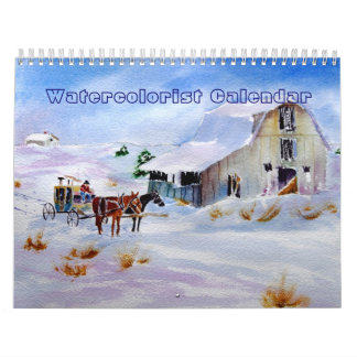 Watercolorist Calendar