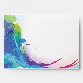 Watercolors Envelope