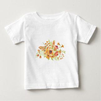 Watercolors flowers baby T-Shirt