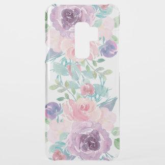 Watercolors Flowers Bouquet Composition Uncommon Samsung Galaxy S9 Plus Case