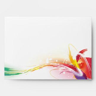 Watercolors III Envelope