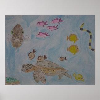 watercolors in dreams print