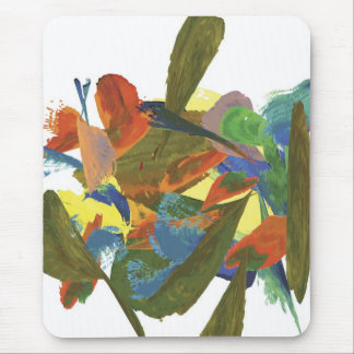 Watercolors Mouse Pad