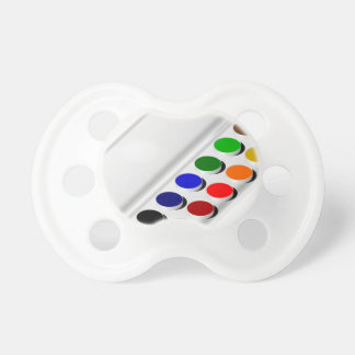 watercolors pacifier