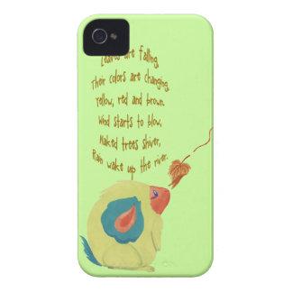 Watercolour Autumn Monster Case-Mate iPhone 4 Case