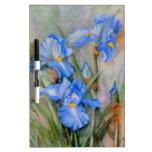 Watercolour azul del iris pizarras