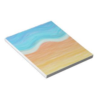 Watercolour Beach Memo Note Pad