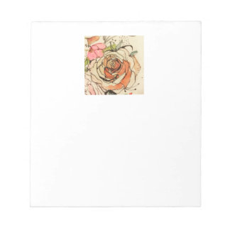 Watercolour bloom 3 notepad