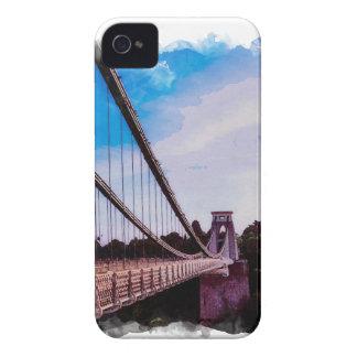 Watercolour Bridge iPhone 4 Case-Mate Case