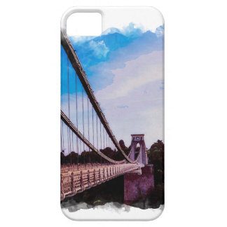 Watercolour Bridge iPhone SE/5/5s Case