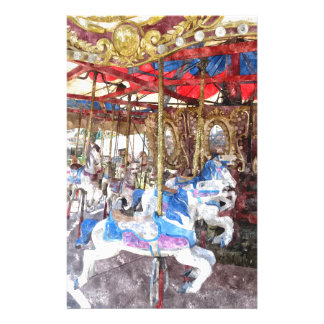 Watercolour Carousel Stationery