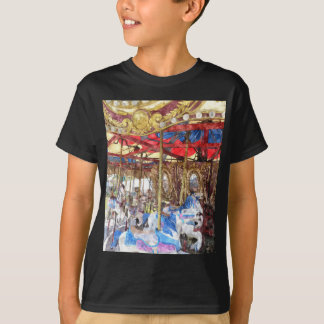 Watercolour Carousel T-Shirt
