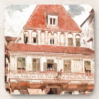 Watercolour de Steyr Bummerlhaus de Rudolf von Alt Posavasos De Bebida