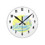 watercolour de Toronto Canadá ningún gráfico de la Relojes