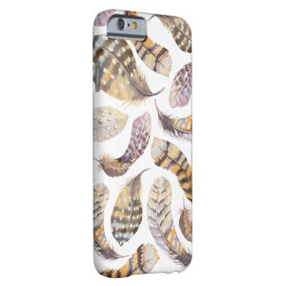 Watercolour Feathers Iphone 6 Hard Case