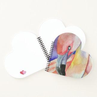 Watercolour Flamingo - Kimberly Turnbull Art Notebook