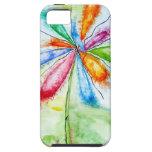 Watercolour, flor de globo iPhone 5 fundas