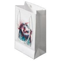 Watercolour Geometric Owl Gift Bags