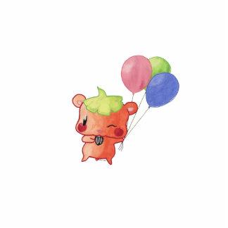 Watercolour Hamster Cutout
