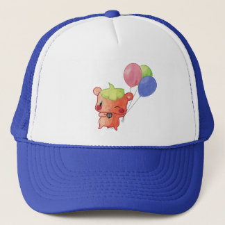 Watercolour Hamster Trucker Hat