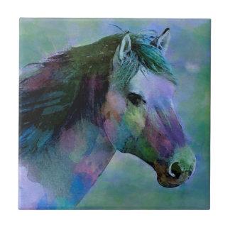 Watercolour Horse Ceramic Tile