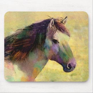 Watercolour Horse Mouse Pad