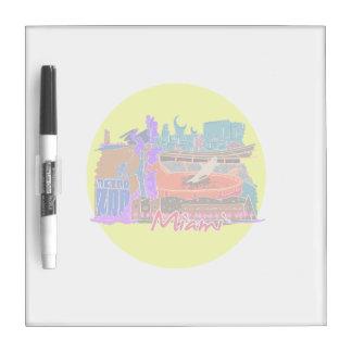 watercolour invertido travel.png de la ciudad de M Tablero Blanco