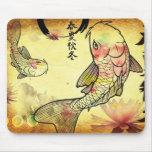 Watercolour Koi Mouse Mats