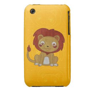 Watercolour Lion Case-Mate iPhone 3 Case
