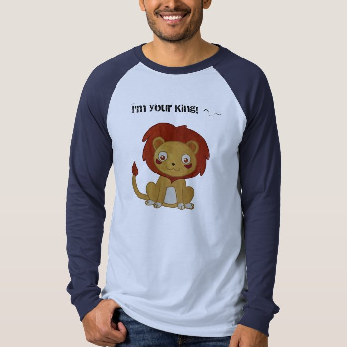 Watercolour Lion T-Shirt