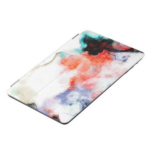 watercolour-paint iPad mini cover