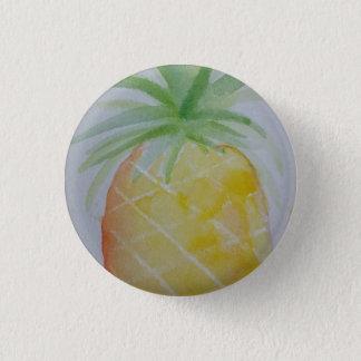 Watercolour Pineapple Badge Pinback Button