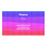 Watercolour Rainbow, Business Card Template