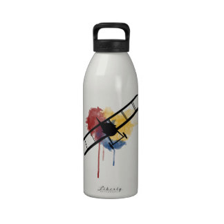 Watercolour Spad XIII Reusable Water Bottle