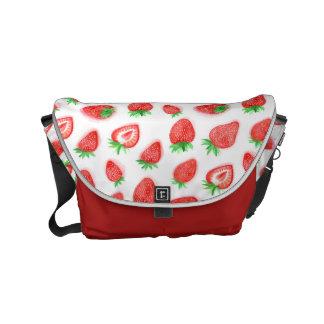 Watercolour Strawberries Bag