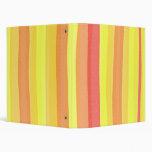 Watercolour Stripes Binder