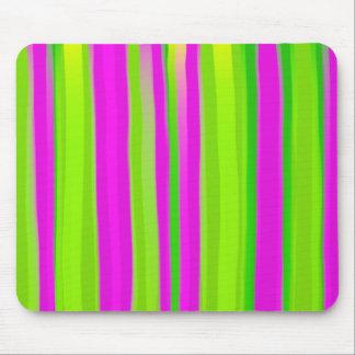 Watercolour Stripes Mouse Pad